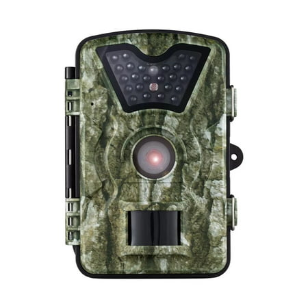 - VicTsing Trail Camera, Game and Hunting Wildlife Camera with 24 Black LEDs, 8MP 720P HD, 2.4