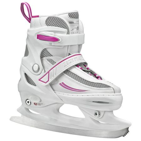 Lake Placid Summit Girls\' Adjustable Ice Skates
