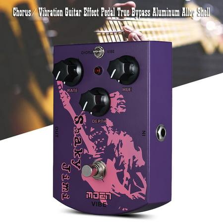 MOEN MO-VB Shaky Jimi Vibrato Chorus Guitar Effect Pedal True Bypass Aluminum Alloy Shell