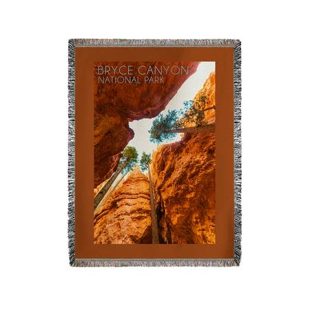 Bryce Canyon National Park, Utah - Navajo Loop Trail - Lantern Press Photography (60x80 Woven Chenille Yarn