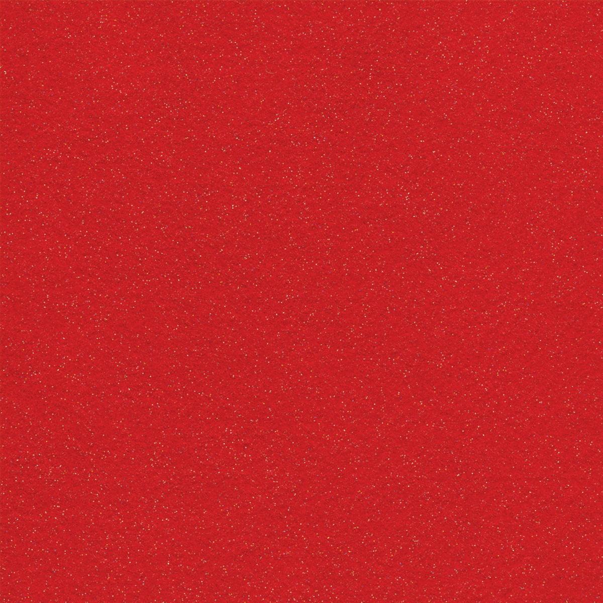 """Eco-fi Glitter Felt 72"""" Wide 10yd Bolt-Red"""