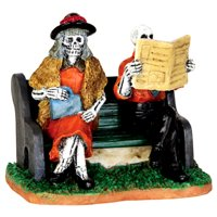 Lemax 42205 REALLY LATE TRAIN Spooky Town Figurine Halloween Decor Figure