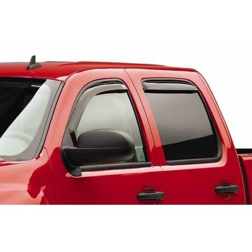 Egr 04-12 Colorado/Canyon Std/Ext/Crew Cab 2-Piece In Channel Slimline Windowvisors, Dark Smoke