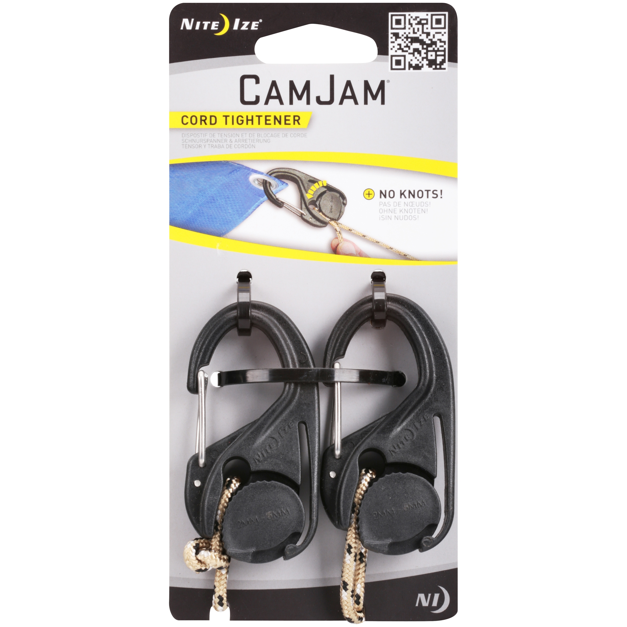Nite Ize® CamJam® Cord Tightener 2 ct Pack