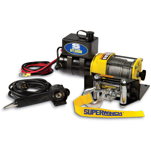 Superwinch 12V DC Utility Winch with 4-Way Roller Fairlead