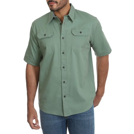 Big Men's Short Sleeve Stretch Shirt