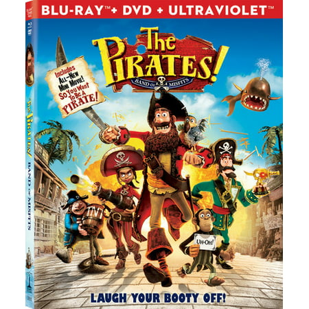 The Pirates!: Band of Misfits (Blu-ray + DVD)