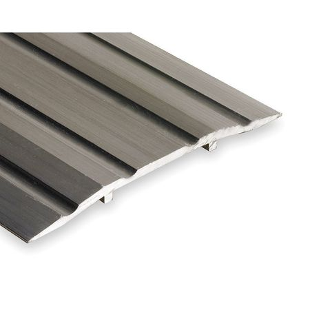 413-3 Saddle Threshold, Fluted Top, 3 ft., Alum