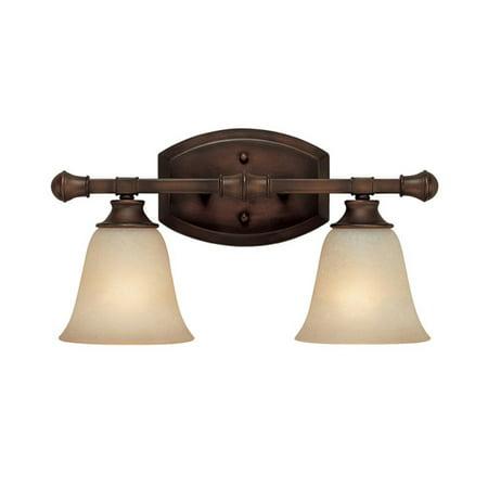 Capital Lighting Belmont Burnished Bronze 2 Light Vanity