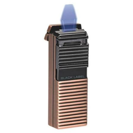 Lotus LBL50010 Black Label El Presidente Copper & Dark Gun Flat Flame Lighter ()