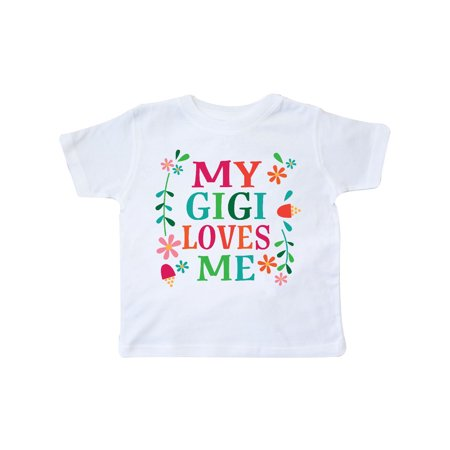 My Gigi Loves Me Girls Gift Apparel Toddler T-Shirt - Girls Apparel
