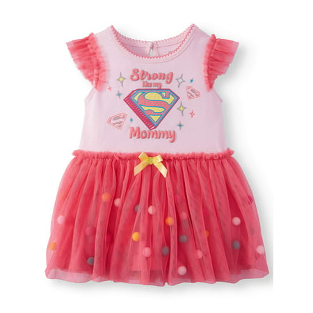 Super Girl Tutu Bodysuit (Baby Girl) (Girl Soper)