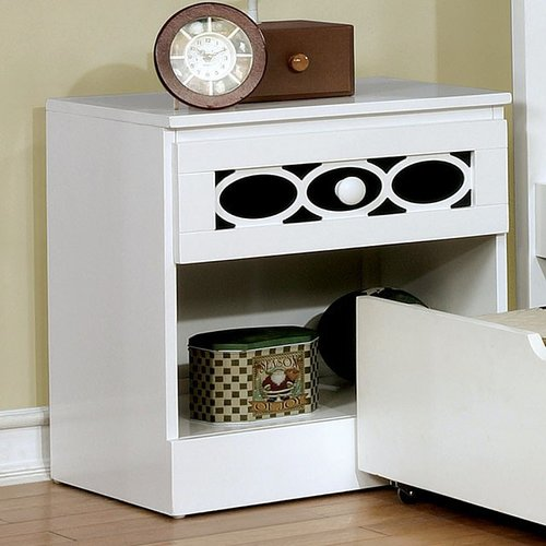 Zoomie Kids Gainesville 1 Drawer Nightstand