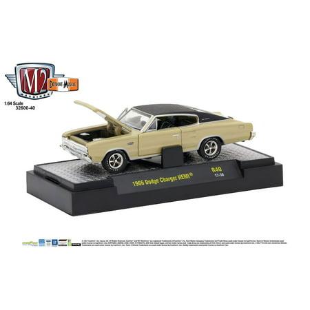 M2 Machines 1:64 Detroit Muscle Release 40 1966 Dodge Charger HEMI