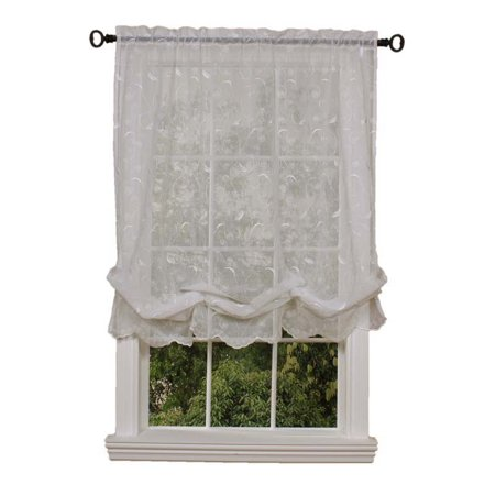 Cheap  Brown And White Curtains