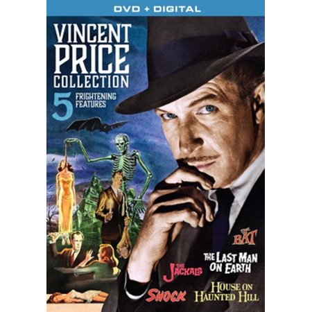 Vincent Price Collection: 5 Frightening Features (DVD) - Vincent Price Halloween