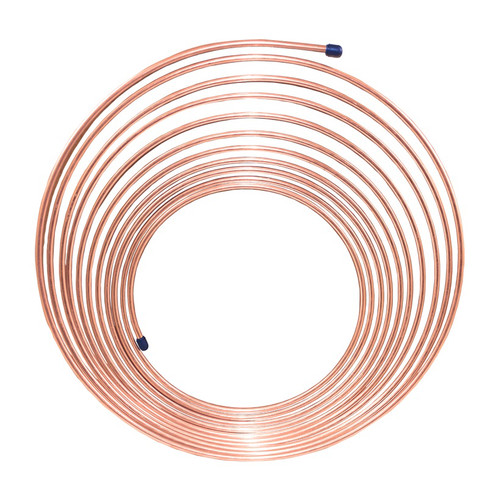 AES Industires CNC-325 NiCopp Nickel/Copper Brake Line Tubing Coil 3/16 in. x 25 in.