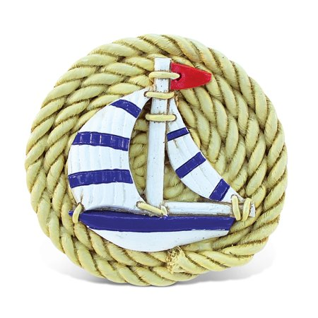 Nautical Magnet Rope With Boat
