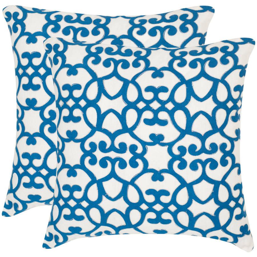 Safavieh Mallorca Geometric Pillow, Set of 2