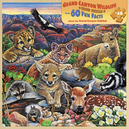 MasterPieces Grand Canyon Wildlife 48 Piece Puzzle](Wildlife Puzzles)