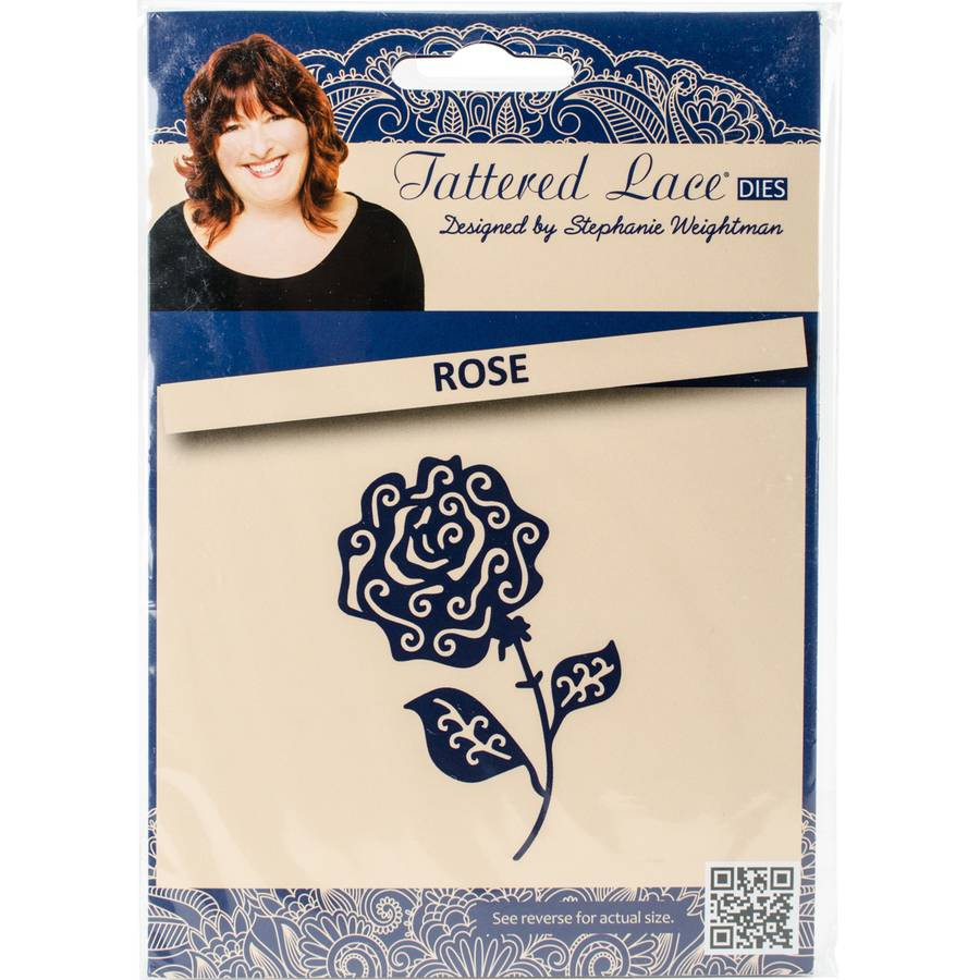 Tattered Lace Metal Die-Rose