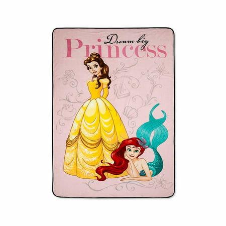Disney Princess Plush - Disney Princess Dream Big Plush Blanket