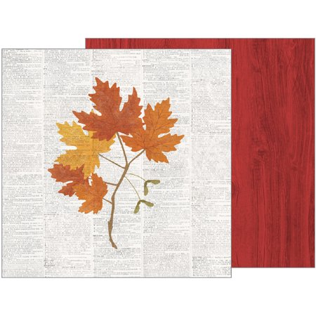 American Craft Pebbles Warm And Cozy Collection 12 X 12 Double Sided Paper Fall Botanical](Fall Crafts For Toddlers)