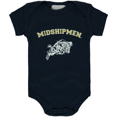 Navy Midshipmen Newborn & Infant Arch & Logo Bodysuit - - Navy Midshipmen Navy Arch