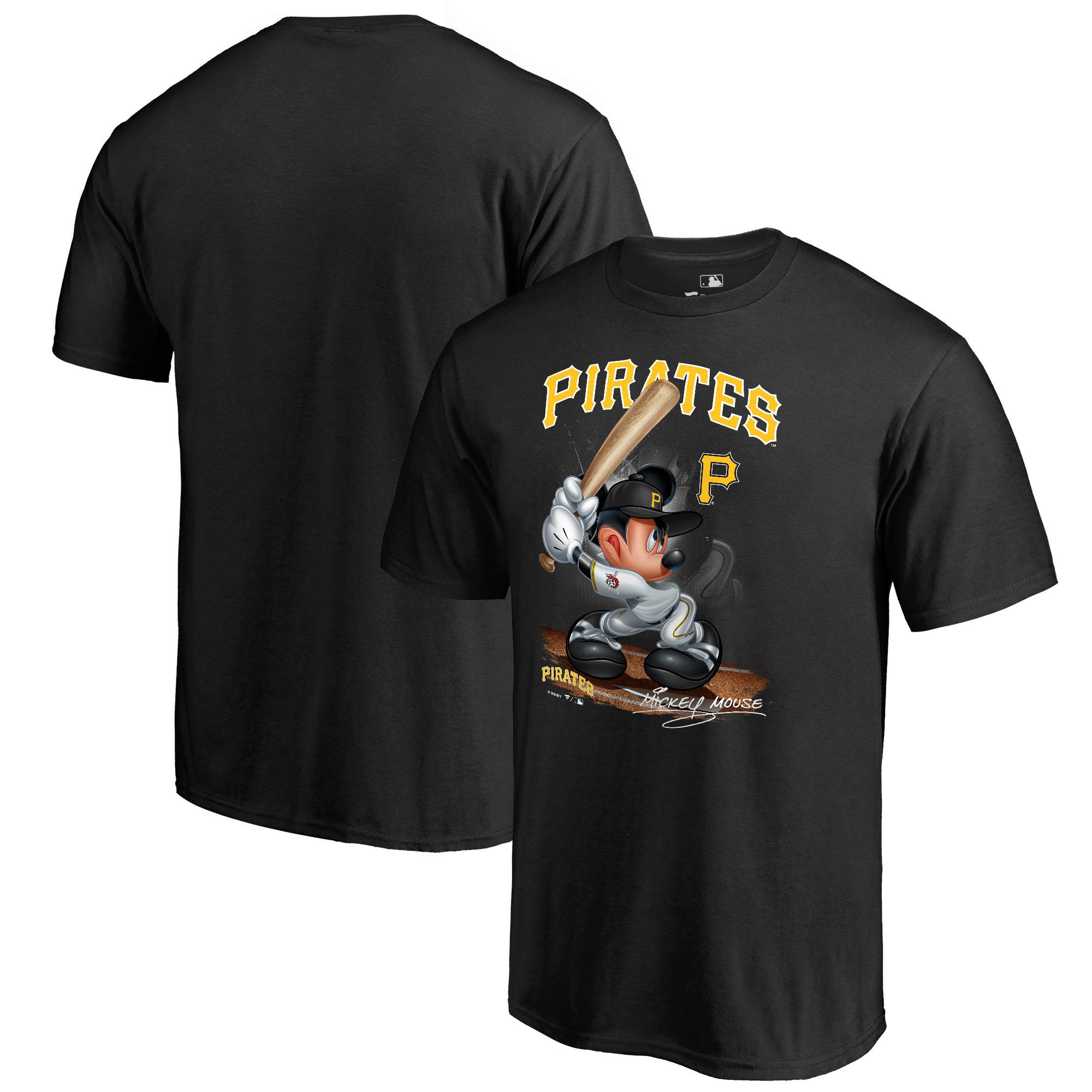 Pittsburgh Pirates Fanatics Branded Youth Disney All Star T-Shirt - Black