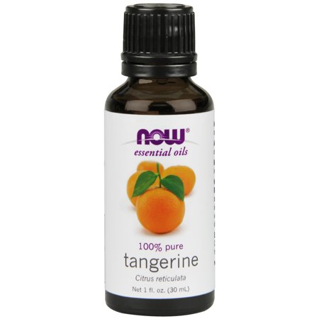 NOW Essential Oils, Tangerine Oil, Uplifting Aromatherapy, Cold Pressed, 100% Pure, Vegan,