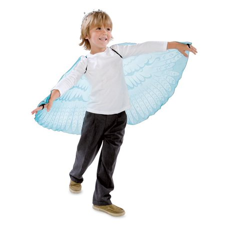 Fabric Angel Wings / Dress Up Angel Wings for Children, Turquoise](Kid Angel)