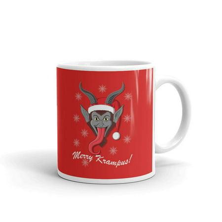 Merry Krampus Secret Santa Funny Coffee Tea Ceramic Mug Office Work Cup Gift 11