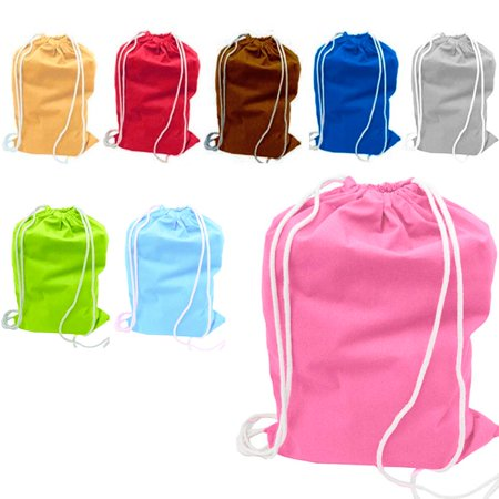 Alltopbargains 1 Large Nylon Laundry Duffle Bag Durable Wash Dirty Clothes Hamper Reusable Tote