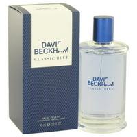 David Beckham David Beckham Classic Blue Eau De Toilette Spray for Men 3 oz