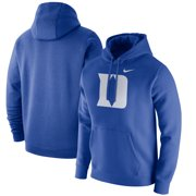 Duke Blue Devils Nike Logo Club Fleece Pullover Hoodie - Royal
