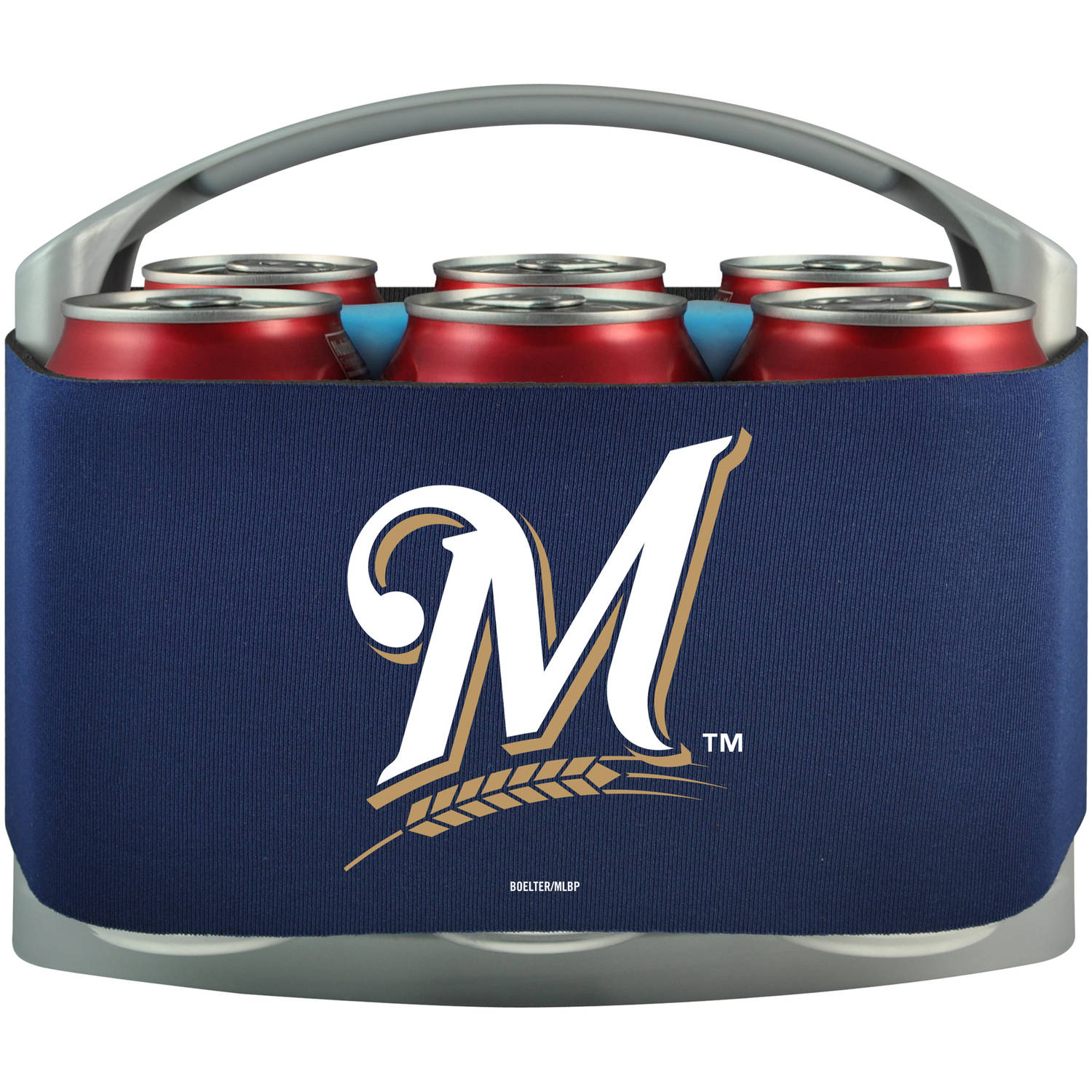 MLB Milwaukee Brewers Cool 6 Cooler