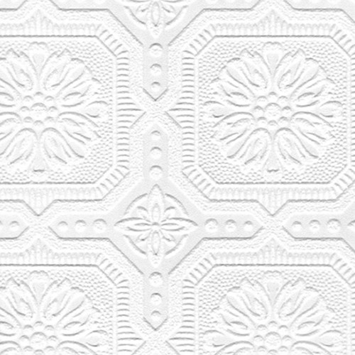 Graham & Brown Paintable 33' x 20.5'' Damask 3D Embossed Wallpaper Roll