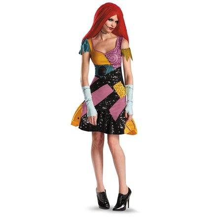 Nigtmare Before Christmas Sally Glam Adult Costume (Sally From Nightmare Before Christmas Costume)