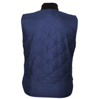 Mobile Warming MWJ18M17-07-03 Company Vest, M, 40 in Fits to Chest, Nylon, Navy