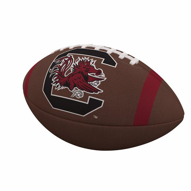 Logo Brands 208-93FC-1 South Carolina Team Stripe Official-Size Composite Football - image 1 of 1