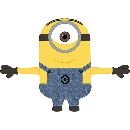Universal Despicable Me Minions 'Stuart' Cuddle Pillow, 1 Each - Pink Minion