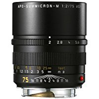Leica 75Mm F 2 Summicron M Aspherical Manual Focus Lens For M System  11637