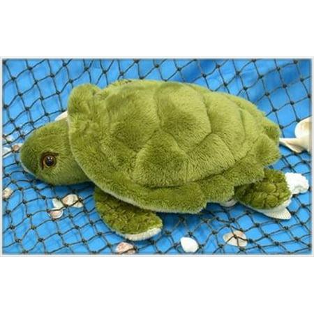 Wishpets Child Small Turtle Plush Toy Green (Green Small Animal)