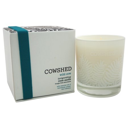 Wild Cow Invigorating Room Candle by Cowshed for Unisex - 8.11 oz Candle