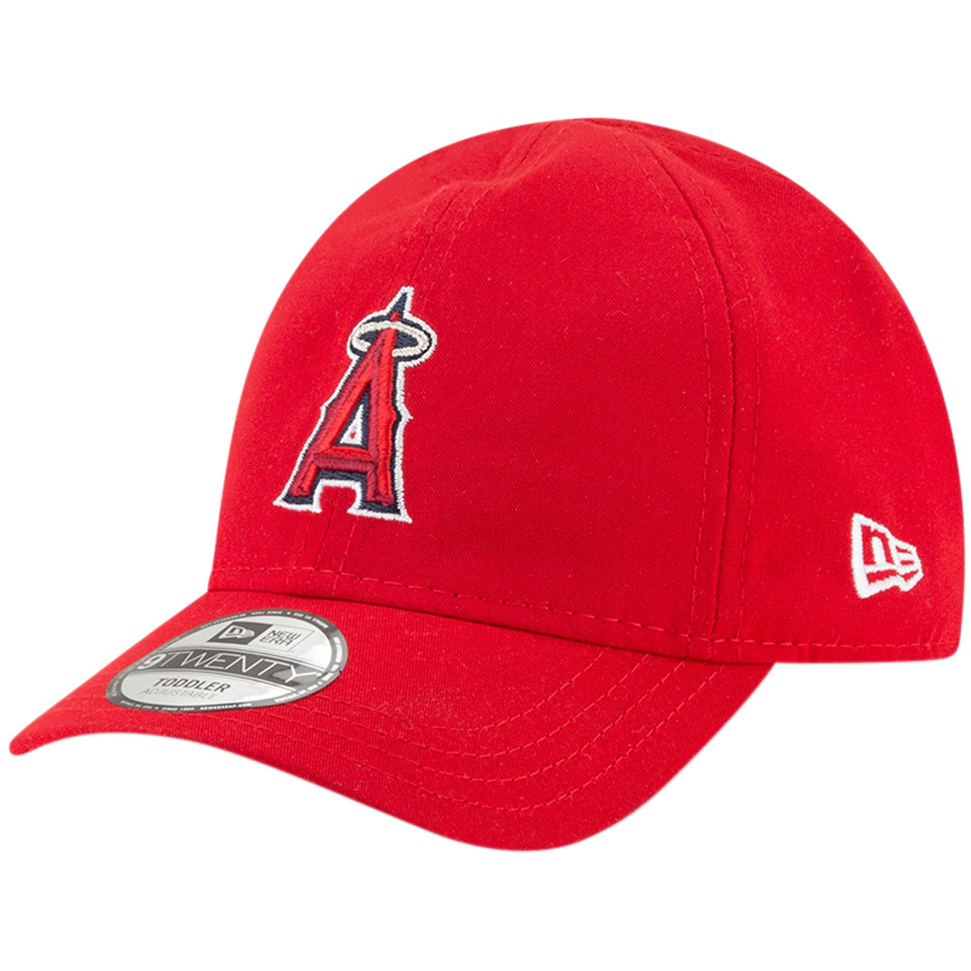 Los Angeles Angels New Era Toddler My 1st 9TWENTY Adjustable Hat - Red - OSFA