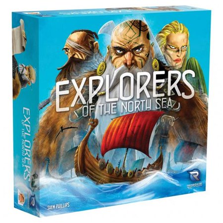 Explorers of the North Sea Strategy Multiplayer Board Game Renegade Studios RGS0586