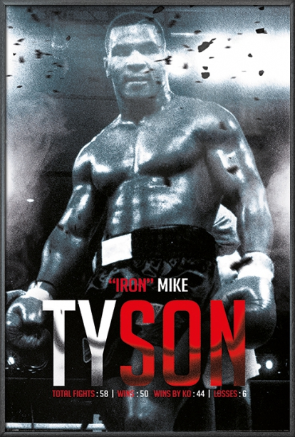 IRON MIKE TYSON POSTER BOXING LEGEND WALL ART PICTURE PRINT LARGE GIANT  HUGE