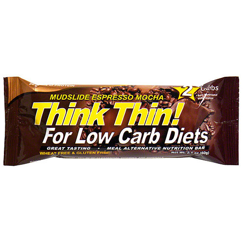 thinkThin Chocolate Espresso High Protein Bars, 2.1 oz (Pack of 10)