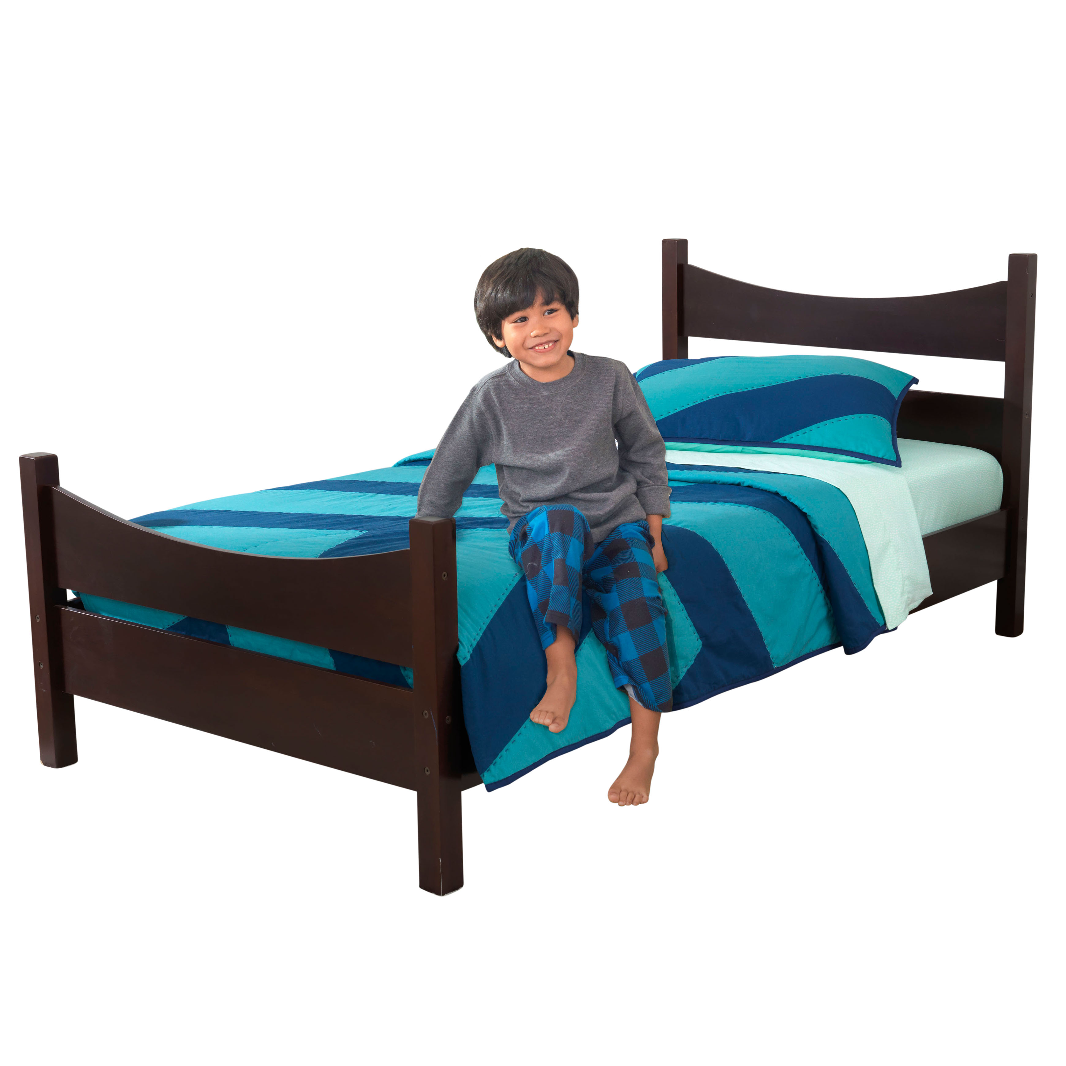KidKraft Addison Wooden Kids' Bed, Twin, Multiple Colors