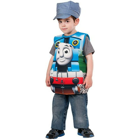 Thomas Candy Catcher Child Halloween Costume, Small (4-6)](Thomas The Engine Costume)